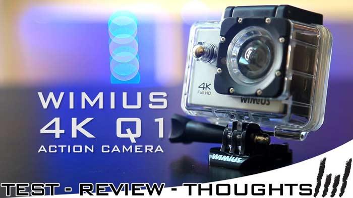 Action Camera Wimius 4K Q3: Recensione, prezzo e offerta